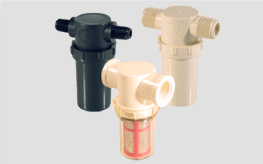 Inline strainers for cost effective strainer applications
